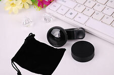 0.4X Super Wide Angle Low Distortion Lens Clip on Cell Phone Selfie Camera Lens