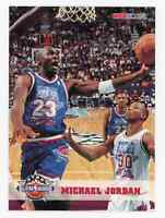1993-94 NBA Hoops Michael Jordan #257 All Star Chicago Bulls HOF Pack Fresh