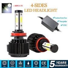 CAR Truck H11 H8 H9 LED Headlight CABUS FOG LAMP 240W 46000LM 6000K White 2pcs