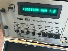 DEC PDP 11 WILSON LABOROATORIES MBX-1000 BUS MONITOR - ANALYZER RARE
