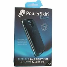 PowerSkin Spare Samsung Galaxy S4 S 4 EXTENDED Battery Thin Snap Case Black
