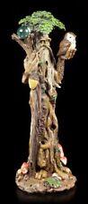 espíritu del bosque Figura - de pie con búho - FANTASY baumgeist Wicca