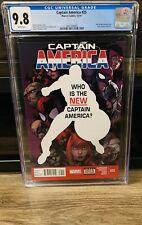 Captain America #25 CGC 9.8 1st Sam Wilson Falcon As Captain America NM WINTER