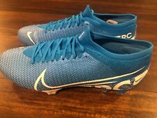 New Nike Mercurial Superfly 360 7 Pro FG Men's Size 13 Soccer Cleats Blue White