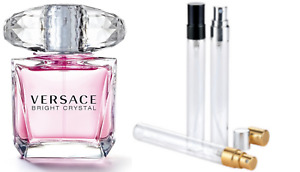Bright Crystal Versace  EDP 100% GENUINE samples free P&P