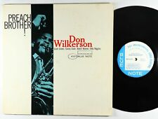 Don Wilkerson - Preach Brother! LP - Blue Note OG Press Mono RVG Ear NY USA