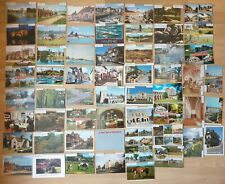 Hampshire Towns England, 58 old Postcards, 27 postally used, joblot