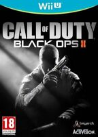 Call Of Duty Black Ops 2 II Nintendo Wii U NEW - SUPER FAST DELIVERY