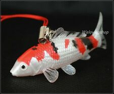 The OSAKA KOI FARM Mini Figure Collection New Japanese Koi Fish SANKE Keychain