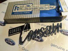 Ford Consul Corsair New Genuine Ford badge
