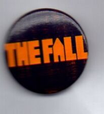 THE FALL BUTTON BADGE English Post Punk Band - Big New Prinz - 70s 80s   PIN
