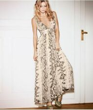 H&M Snake Print Evening Dress