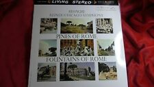 """RCA LSC-2436 RESPIGHI """"PINES/FOUNTAINS OF ROME"""" CHICAGO/REINER 2x45rpm NEW/MINT"""
