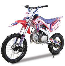 CRX NCX MOTO PIT BIKE 125CC 17/14 BIANCO MINICROSS ENDURO 4 TEMPI