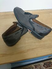 CLARKS Men's Escalade Step Casual / Dress Shoes Black Leather Size 9 1/2 M NEW
