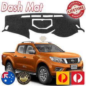 Dash Mat For Nissan Navara NP300 2015-2020 Ute Dashboard Cover Black