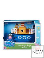 Peppa Pig de Grandpa Barco Pequeño Playset Juguete & Figura en Caja Juego