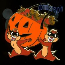 Disney Pin DS.com *Mickey O'Lantern* Mystery Series - Chip & Dale Acorns (LE)!