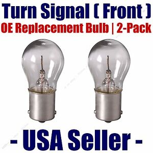 Front Turn Signal/Blinker Light Bulb 2pk Fits Listed Land Rover Vehicles - 7506