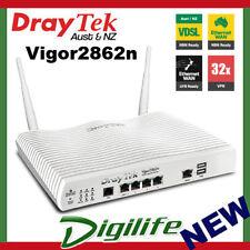DrayTek Vigor2862n VDSL2/ADSL2+ Gigabit Multi WAN VPN Firewall Router DV2862N