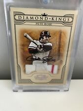 2008 Diamond Kings Autographed Pete Rose w/Game-Day Threads