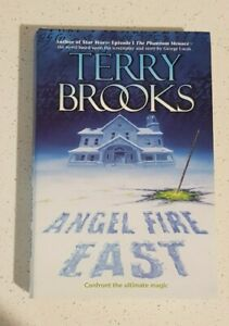 Angel Fire East By Terry Brooks Hardcover Dust Jacket 1st Edition 1999