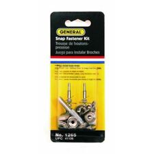 General Tools 1265 Snap Fastener Kit with 6 Fasteners