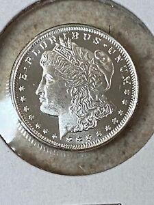 1/4 ounce .999 Silver Round Morgan Dollar Design