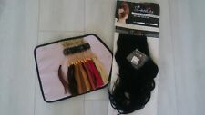 Salone di bellezza colore CAMPIONE ad Anello 100% Umani Extension Per Capelli Clip per capelli Plus