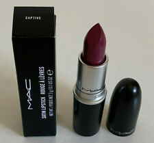 NEW! MAC SATIN LIPSTICK - CAPTIVE ( PINKISH-PLUM ) SALE