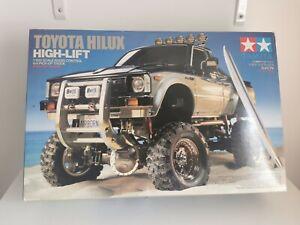 Tamiya Toyota Hilux High Lift 1:10 Scale RC 4x4 Pick Truck Model Kit 58397