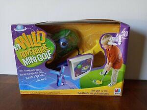 ***NEW*** Wild Adventure TV Mini Golf Plug & Play Game Milton Bradley 2005