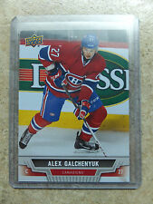 13-14 UD Bell Cup Capital RC Rookie #BCC-8 ALEX GALCHENYUK SSP Young Guns YG