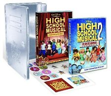 DISNEY DVD High school musical 1 e 2 - TIN BOX edizione limitata fuori catalogo