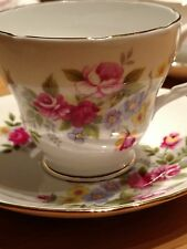 Duchess bone china England tea cup and saucer 329 rose pattern