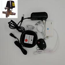 Wireless Water Leaking Detector Alarm Sensor Home Auto Shut Off Valve Controller