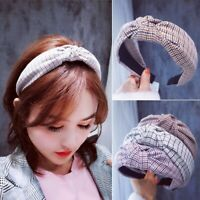 Womens Sweet Headband Twist Hairband Bow Knot Cross Tie Cloth Headwrap Hair Band