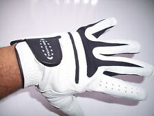 Genuine White Leather Golf Glove (All sizes available) Lh Or Rh