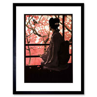 Theatre Opera Madame Butterfly Music Italy Ad Framed Art Print 12x16 Inch