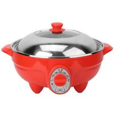6L Multi-function Electric Pan Hot Pot BBQ Frying Kitchen Cook Grill 220V 2000W