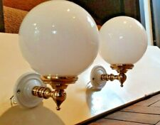 Pair of Vintage Style Wall Lights / Bathroom
