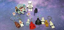 Lego star wars minifigures Plus Keychains.