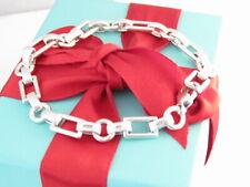"""Tiffany & Co Silver Men Link Bracelet 8.5"""""""