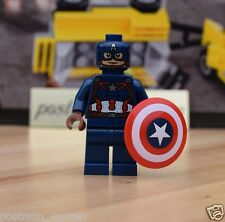 Lego Minifigure Marvel Super Heroes Agent 13 From 76051 & Post