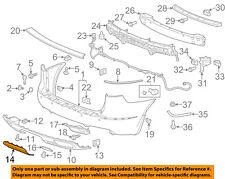 Buick GM OEM 13-17 Enclave-Bumper Trim-Insert 20983461