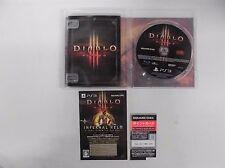 PlayStation3 -- DIABLO 3 -- PS3. JAPAN GAME. Works fully!! 62106