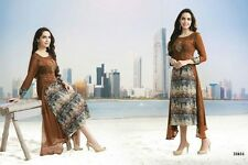 Stitched Designer Printed Embroidered Kurti In Soft Georgette Fabric