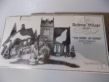 Dept 56 Dickens Village The Spirit of Giving #58322 D56