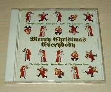v/a MERRY CHRISTMAS EVERYBODY CD 1990 18trk ABBA BZN Carpenters Elton John