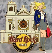 Hard Rock Cafe MINNEAPOLIS 2005 Basilica Block Party PIN Sexy Girl of Saint Mary